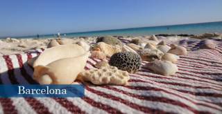 Noosa Beach Towels, Barcelona fouta