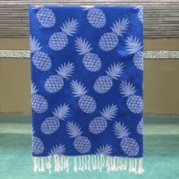 Noosa Beach Towel with Pineapple Design