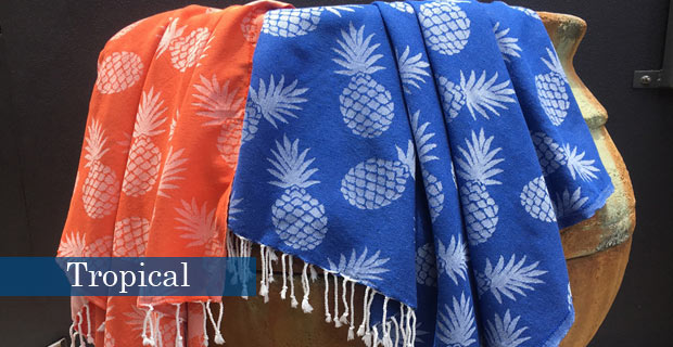 Tropical fouta slider